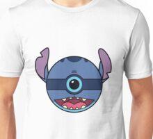 Stitch Pokemon Ball Mash-up Unisex T-Shirt