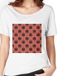 Ornamental Floral Women's Relaxed Fit T-Shirt