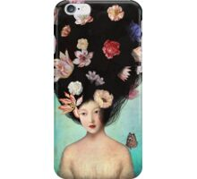 The Botanist's Daughter iPhone Case/Skin