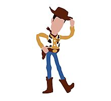 Woody - Toy Story (Light) Photographic Print