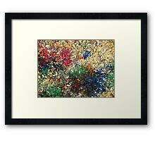 Accidental Abstract Framed Print