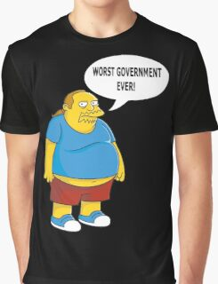 Worst Government Ever! Graphic T-Shirt