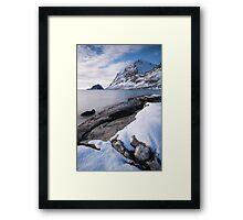 Haukland #1 Framed Print