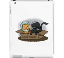 Kitten and Alien iPad Case/Skin