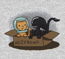 Kitten and Alien Kids Tee