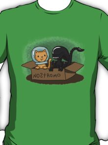 Kitten and Alien T-Shirt