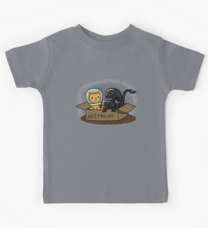Kitten and Alien Kids Tee