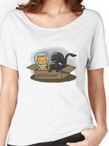 Kitten and Alien Women's Relaxed Fit T-Shirt