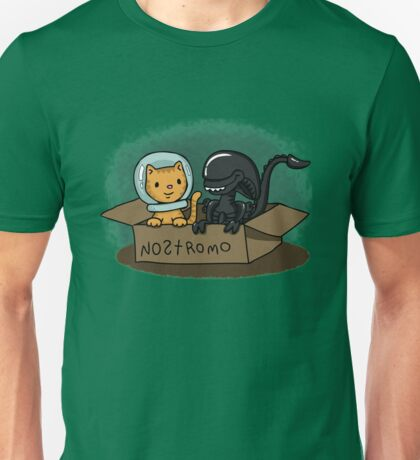 Kitten and Alien Unisex T-Shirt