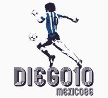 DIEGO10 - MEXICO 1986 WORLD CUP SOCCER Kids Tee