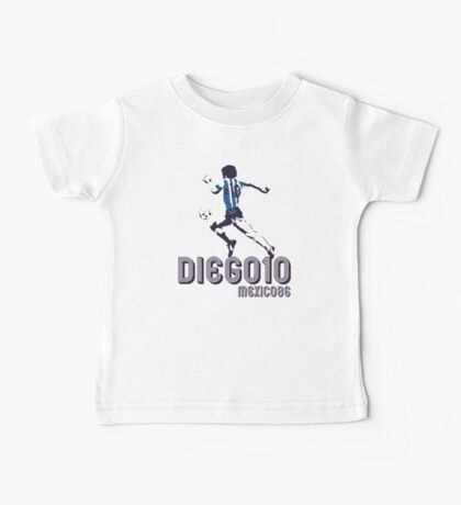DIEGO10 - MEXICO 1986 WORLD CUP SOCCER Baby Tee