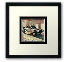 Bill Caswell Baja BMW E30 Framed Print