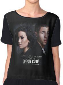 Demi Lovato & Nick Jonas Chiffon Top
