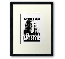 Dumbledore's got style Framed Print