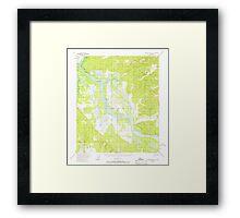 USGS TOPO Map Alaska AK Kantishna River D-1 356444 1953 63360 Framed Print