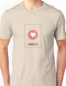 I Love Charlotte Unisex T-Shirt