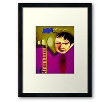 Ladder to the Gods Framed Print