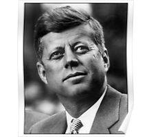 John F Kennedy American President  Poster