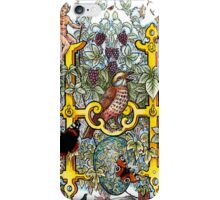 The Illustrated Alphabet Capital H (Fuller Bodied) from THE ILLUSTRATED MAN iPhone Case/Skin