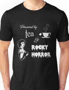 Powered by Tea & Rocky Horror Unisex T-Shirt