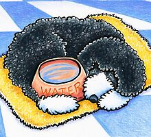 Portuguese Water Dog by offleashart