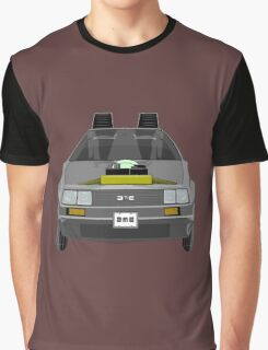 Delorean DMC-12 de Regreso al Futuro Graphic T-Shirt