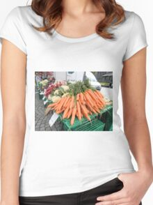 Vegetables for Sale Women's Fitted Scoop T-Shirt