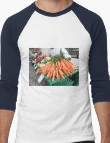 Vegetables for Sale Men's Baseball ¾ T-Shirt