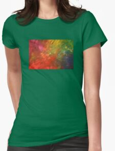 colour one Womens Fitted T-Shirt