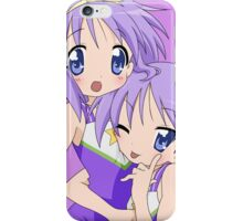 Hiiragi Tsukasa & Hiiragi Kagami (Lucky Star) iPhone Case/Skin