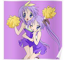 Hiiragi Tsukasa & Hiiragi Kagami (Lucky Star) Poster