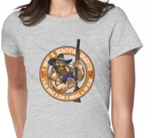 Hillbilly - I Have A Beautiful Daughter Tan Variant Womens Fitted T-Shirt