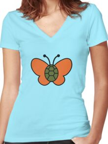 Turflytle Buzz Buzz! Women's Fitted V-Neck T-Shirt