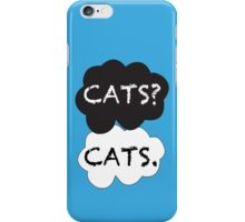 Cats? Cats. iPhone Case/Skin