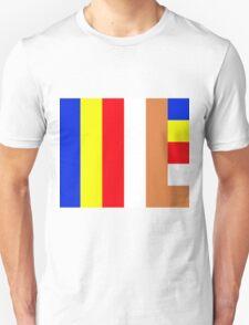 Buddhism Flag Unisex T-Shirt
