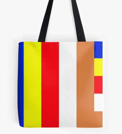 Buddhism Flag Tote Bag