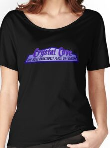 Crystal Cove The Most Hauntedest Place on Earth Women's Relaxed Fit T-Shirt