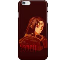 Soren: Fire iPhone Case/Skin