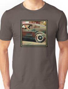 Bullitt Steve McQueen Mustang Unisex T-Shirt