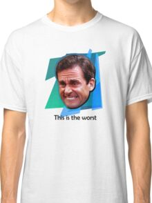 Michael Scott Ugly Cry Face Classic T-Shirt