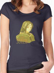 Soren: Light Women's Fitted Scoop T-Shirt
