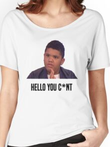 Hello You C*nt | Harvey Price Women's Relaxed Fit T-Shirt