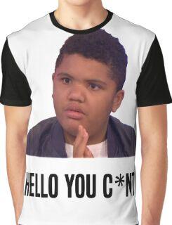 Hello You C*nt   Harvey Price Graphic T-Shirt