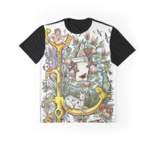 The Illustrated Alphabet Capital L (Fuller Bodied) from THE ILLUSTRATED MAN Graphic T-Shirt