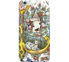 The Illustrated Alphabet Capital L (Fuller Bodied) from THE ILLUSTRATED MAN iPhone Case/Skin