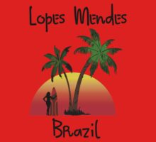 Lopes Mendes Brazil One Piece - Short Sleeve