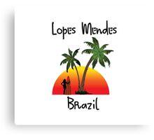 Lopes Mendes Brazil Canvas Print