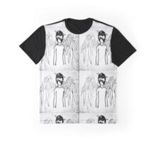 My emo Love with Backing Graphic T-Shirt