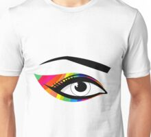 T-shirt eyes color Unisex T-Shirt