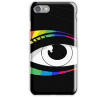 T-shirt eyes color iPhone Case/Skin